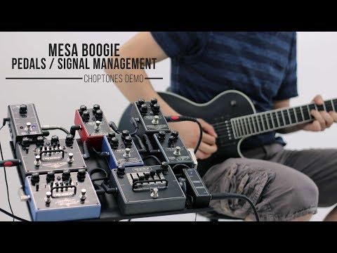 Mesa Boogie Pedals & Signal Management Tools | Demo