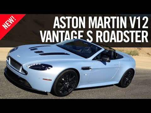 First Drive Aston Martin V12 Vantage S Roadster Review