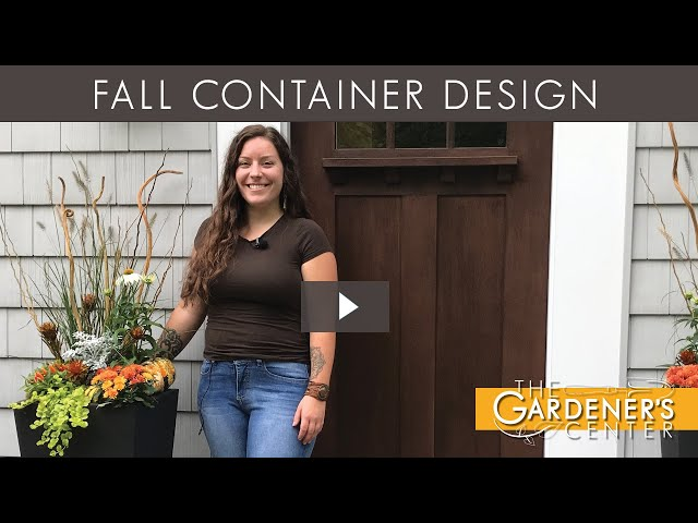 9/25/2020 Fall Container Design with Lauren