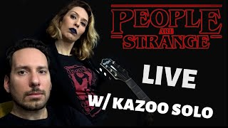 Baixar PEOPLE ARE STRANGE (live acoustic cover w/ kazoo solo by Rock2Night)