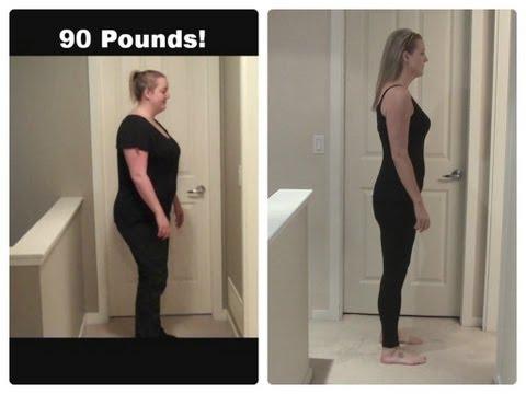 90 Pound Weightloss 360° Comparison!!