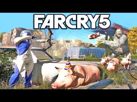 Far Cry 5 Map Editor FULL Showcase! (Far Cry 5)
