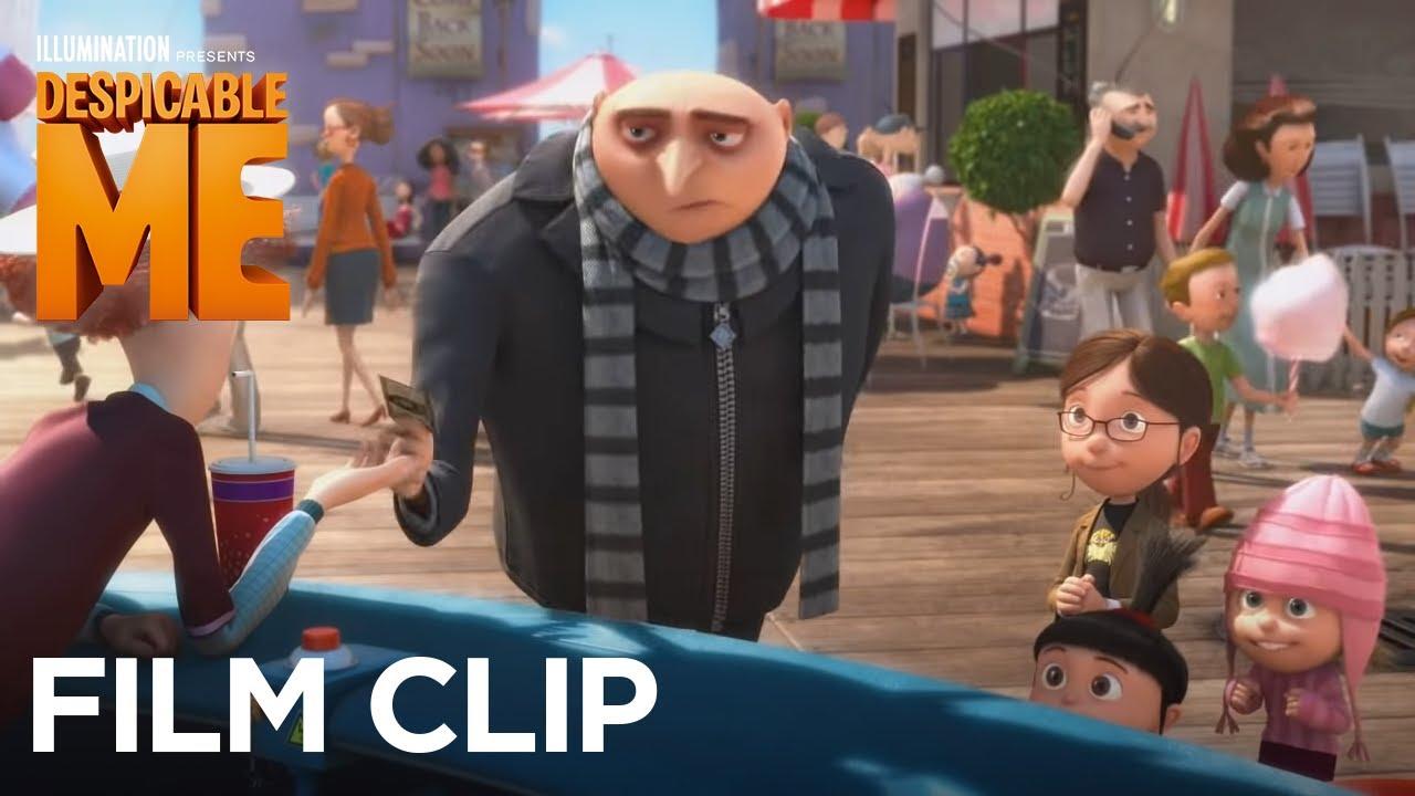 Despicable Me Clip It S So Fluffy Illumination Youtube