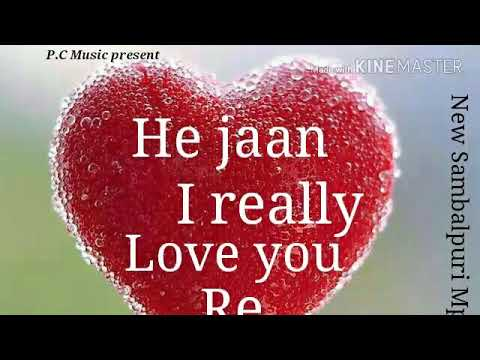 He Jaan I Really Love You Re Sambalpuri Song Artist Prashant Chhura