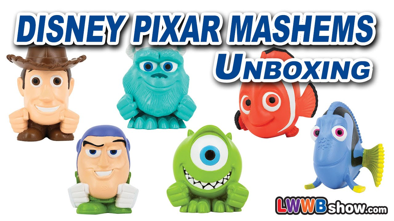 ... Nemo Monsters Inc University Toy Story Toys Unboxing Ep 16 - YouTube