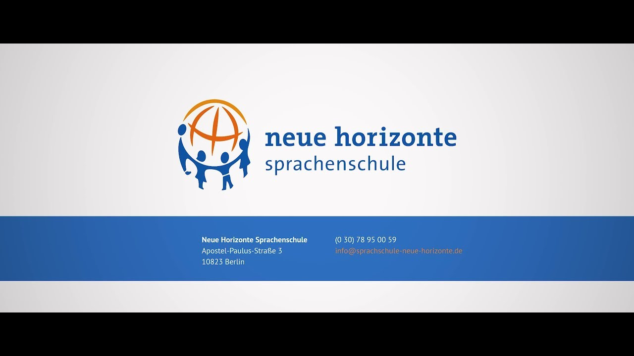 Neue Horizonte Youtube