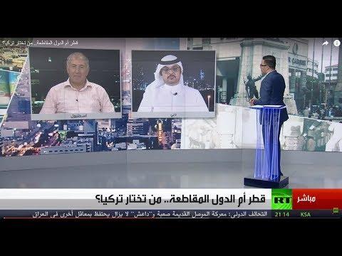 Live Broadcast from Our Media Studio, Dubai- Mr.Ahmad Alssayaf For RT Arabic-30/06/2017