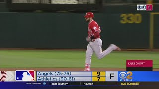 Cowart's Grand Slam Lifts Angels Over A's, 9-7