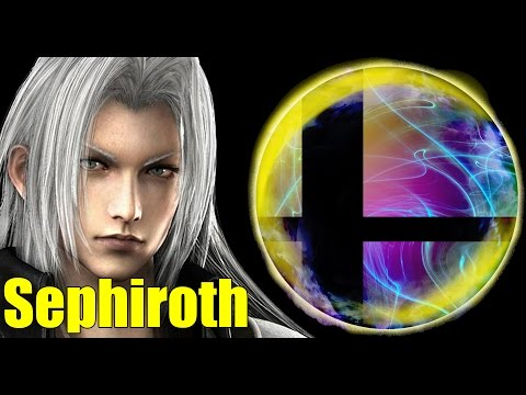 Fully Custom Sephiroth Mod (Final Fantasy/Kingdom Hearts 2) in Super Smash Bros Brawl/PM
