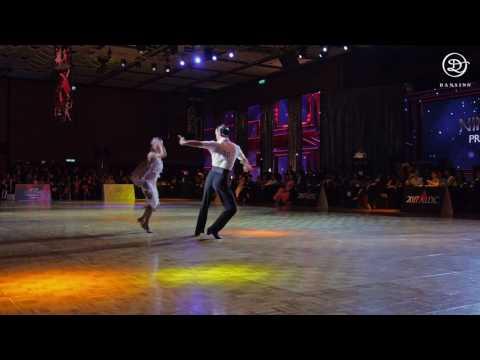 Pro Latin Finalist Nino LANGELLA & Andra VAIDILAITE