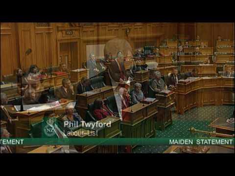 Maiden Speech - Phil Twyford 9 December 2008