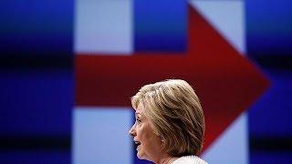 هيلاري كلينتون تعلن ضمان فوزها بترشيح حزبها