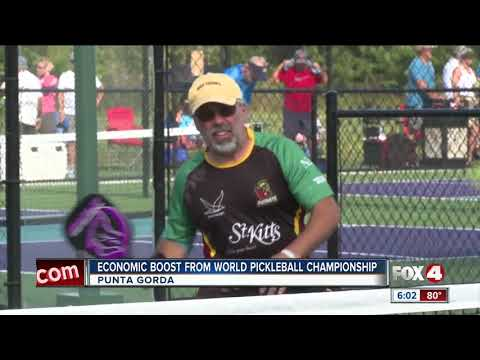 World Pickleball Championship Brings Economic Boost To Charlotte County