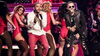 Nacho Ft Yandel Bailame Remix Premios Tu Mundo 2017 Live