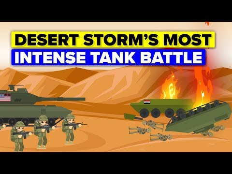 The Battle of 73 Easting - The Most Intense Tank Battle In History