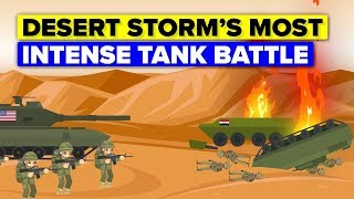 The Most Intense Tank Battle In History: The Battle of 73 Easting