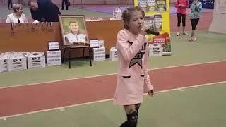 Ольга Мастыгина чемпионка Мордовии по спортивной ходьбе на 1 км и... начинающая певица
