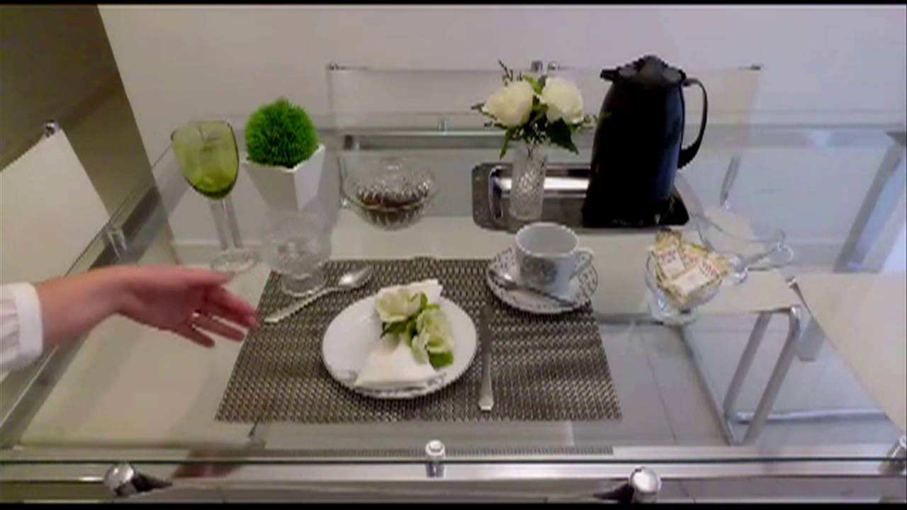 Mesa de Caf da manh como montar  YouTube
