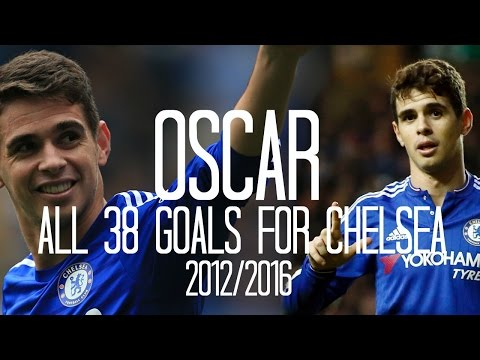 Oscar - All 38 Goals for Chelsea - English Commentary (Just Goals) - 2012/2016
