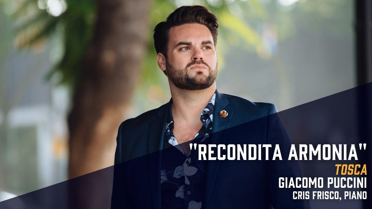 """""""Recondita armonia"""" from Puccini's Tosca - Dane Suarez, tenor"""