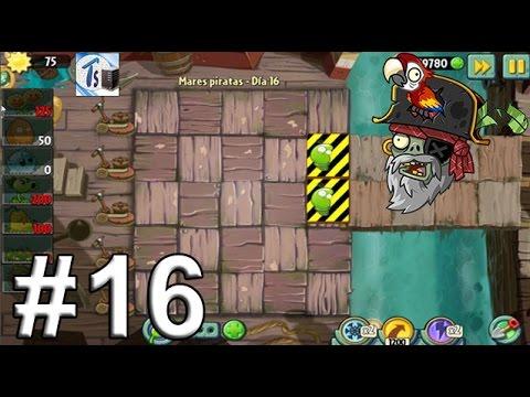 Plants Vs Zombies 2, Mares Piratas Día 16