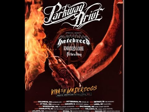 Parkway Drive, Hatebreed, Knocked Loose and Fit For A King 2021 North American tour..!