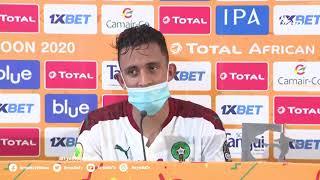 🎙️| #سفيان_رحيمي لاعب #المنتخب_الوطني_المحلي بعد إختياره رجل مباراة #المغرب #أوغندا