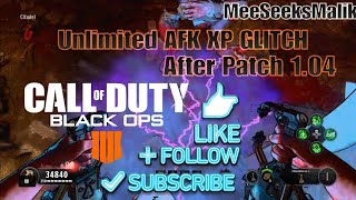 COD:BO4 SOLO AFK XP Glitch After Patch 1.04