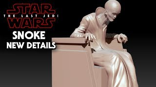 Star Wars The Last Jedi NEW Snoke Details Revealed! SPOILERS