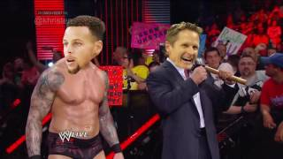 Kevin Durant turns on OKC(WWE Style)