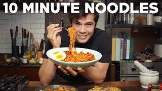 Quick Stir-Fried Noodle Recipes (Beef and Broccoli, Drunken Noodles, Bibim Guksu)