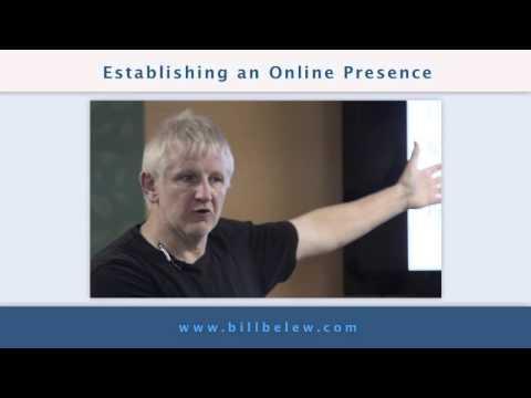 Establishing an Online Presence with Bill Belew in Palo Alto, CA