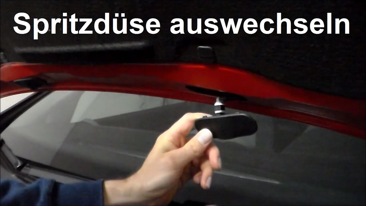 Spritzdsen wechseln VW Polo - Waschdse Scheibenwaschdse ...