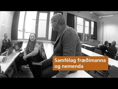 Velkomin í Háskólann á Akureyri