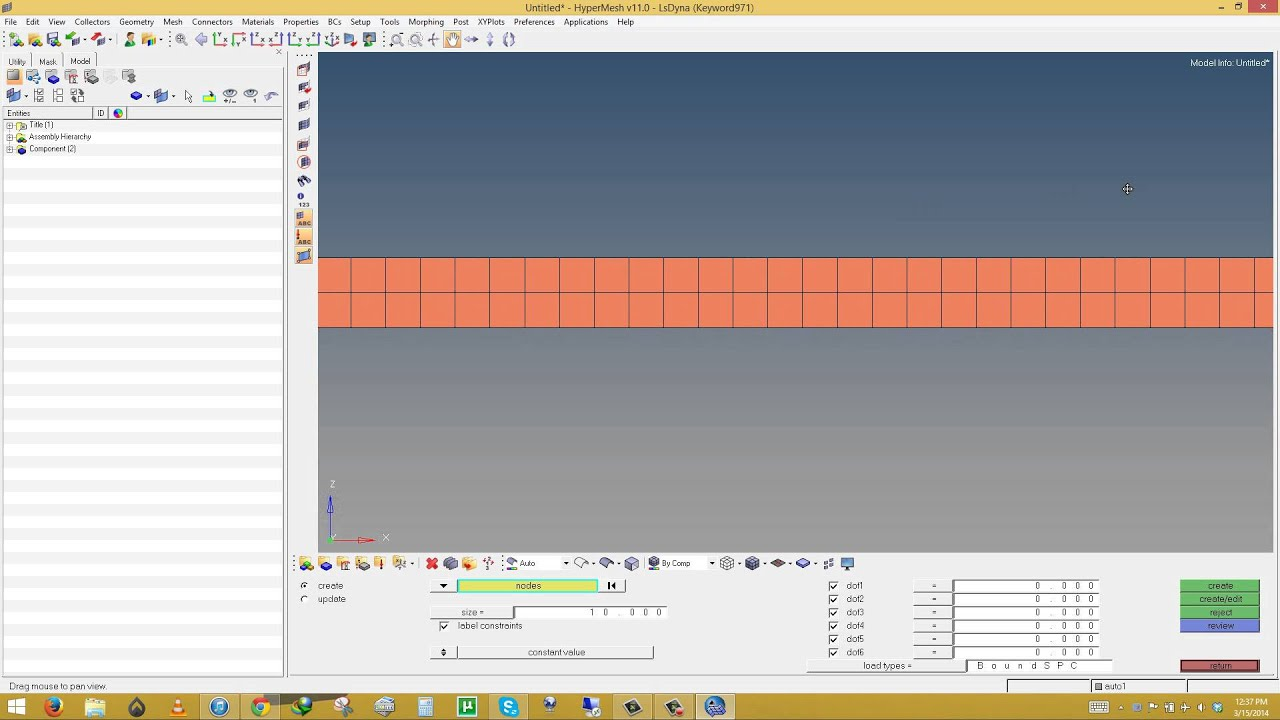 Part 1 of 3 beam design and blast analysis using hypermesh ls part 1 of 3 beam design and blast analysis using hypermesh ls prepost and ansys youtube baditri Image collections