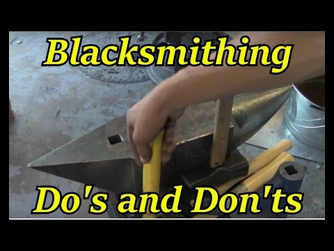 Do's and Don'ts of Blacksmithing | Iron Wolf Industrial
