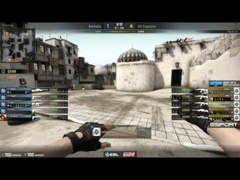 IEM Katowice Zárt kvalifikáció - G2 vs. EnVyUs (Dust2)