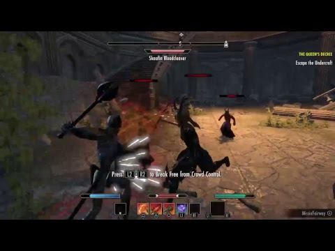 Continuing the new Summerset Elder Scrolls Online game!!! |
