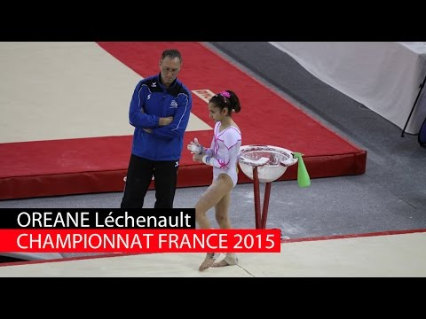 Oreane au championnat de France junior 2015