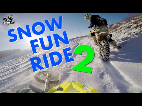 Motocross - Snow Fun Ride 2017 II 🔰Dirtbike FreaX🔰