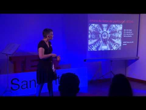 Buscando partículas esquivas, ¿para qué? | Esther Ferrer Ribas | TEDxSantAntoni