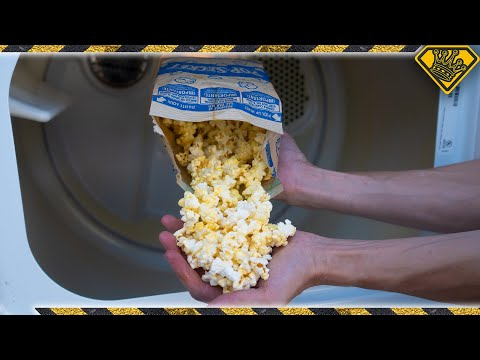 Can you Make POPCORN in Your Dryer?