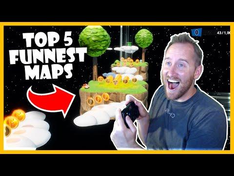 Top 5 Fun Maps In Fortnite Creative!