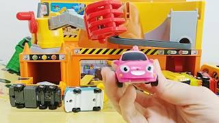 타요 중장비 장난감 놀이 мультфильмы про машинки Игрушки Tayo the Little Bus Car Toys