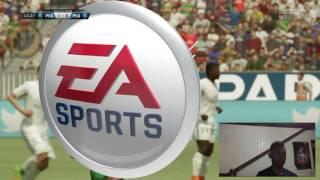 TEST FIFA 17 PS4 PREMIER CONTACT - SAISON EN LIGNE