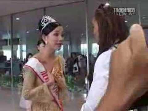 Miss Universe 2008: Vietnam - Arrivals