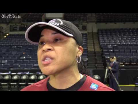 Coach Dawn Staley talks a out the depth of the USC basketball program