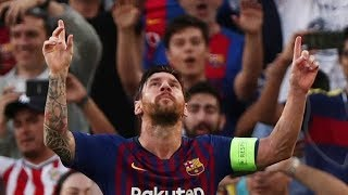 Lionel Messi ★Score A Hat Trick ★First Match of  UCL★2018/19
