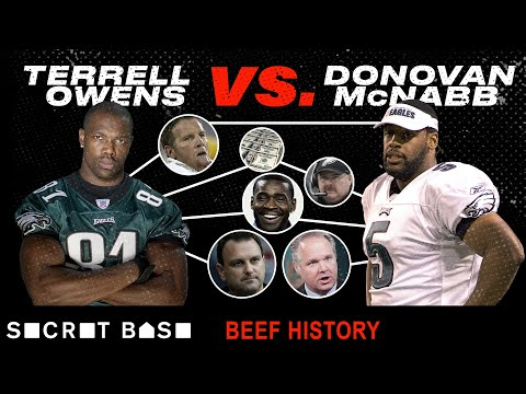 Terrell Owens' beef with Donovan McNabb was must-see TV
