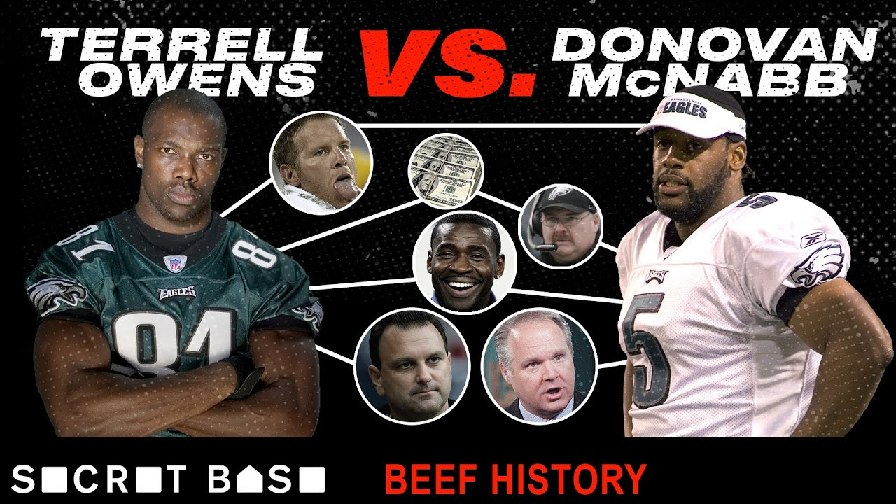 Terrell Owens Beef With Donovan Mcnabb Was Must See Tv Youtube